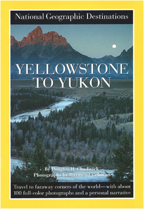 "National Geographic cover ""Yellowstone To Yukon"" photographed by Raymond Gehman"