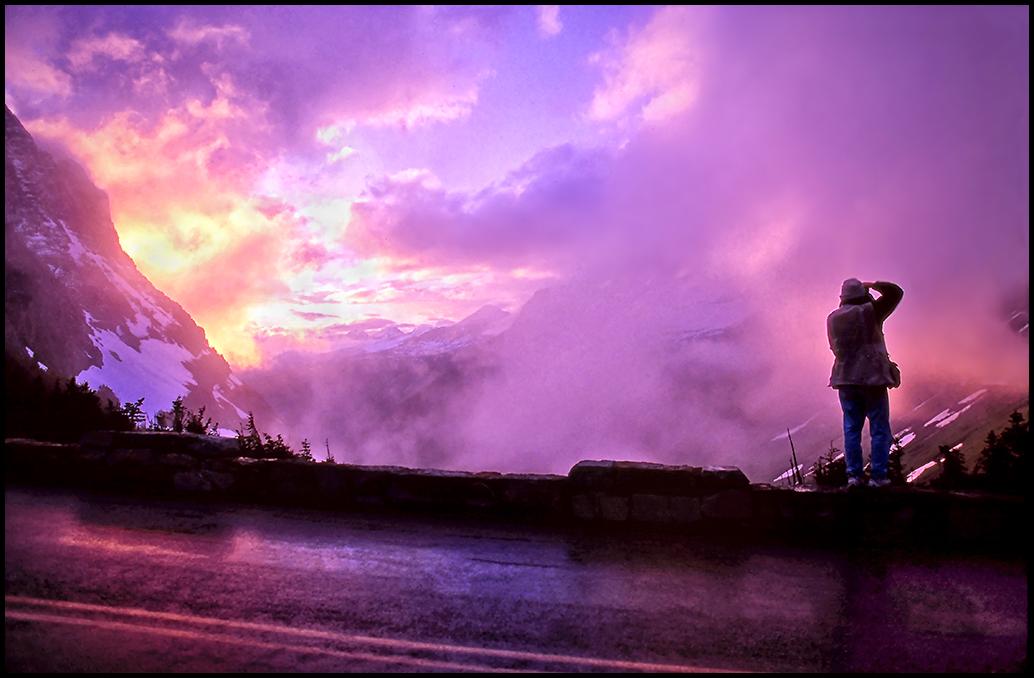 "Raymond Gehman, ""Going To The Sun Road"", Glacier National Park, Montana"