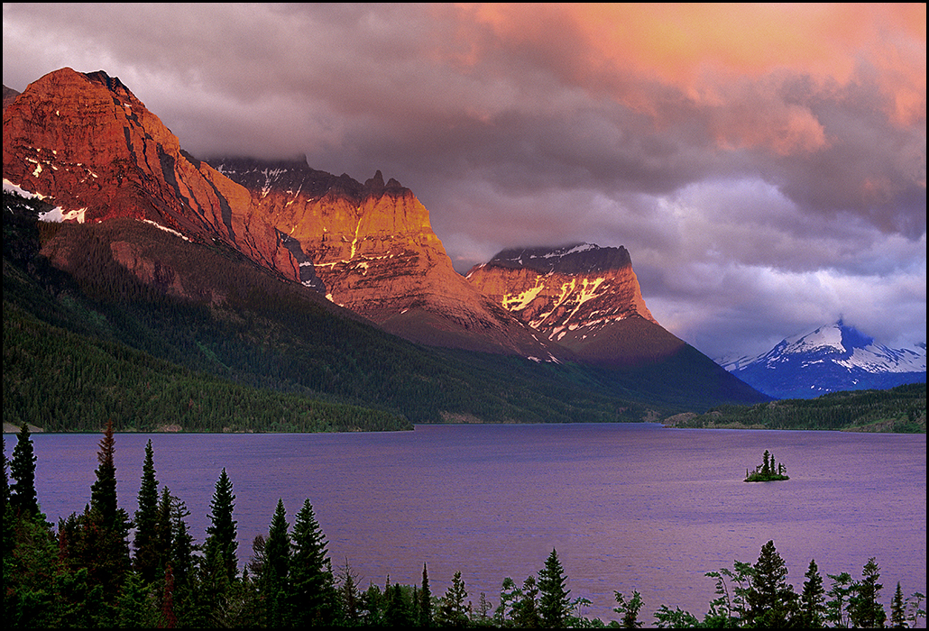 "Raymond Gehman, ""St. Mary Lake at Dawn"", Glacier National Park, Montana"