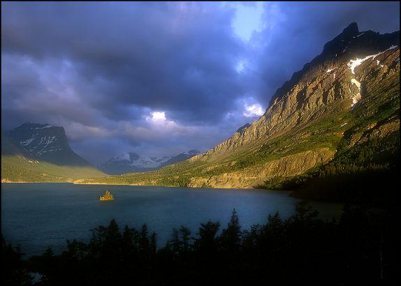 "Raymond Gehman, ""St. Mary Lake"", Glacier National Park"