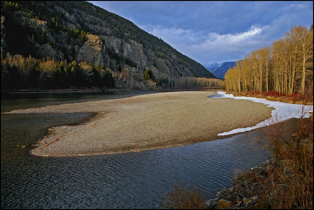 "Raymond Gehman, ""Flathead River And Montana Sunset"", Montana"