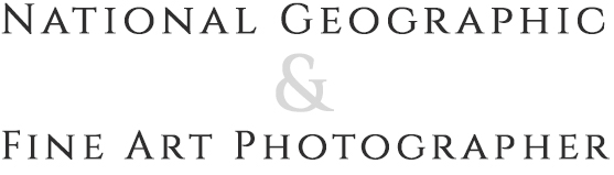 National Geographic and Fine Art Photographer